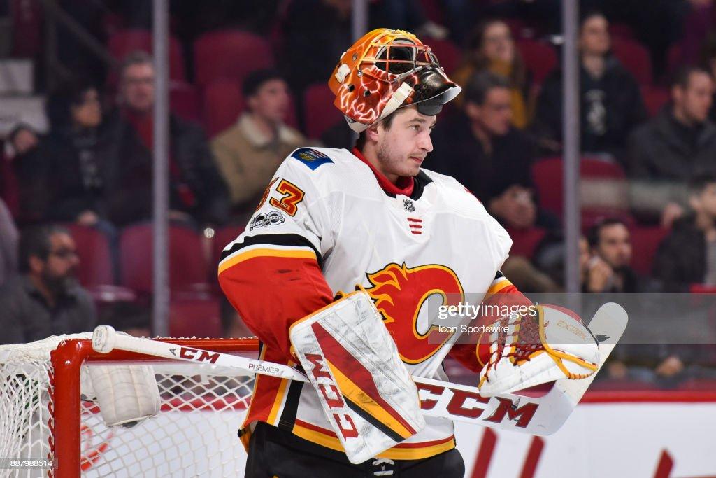 NHL: DEC 07 Flames at Canadiens : News Photo