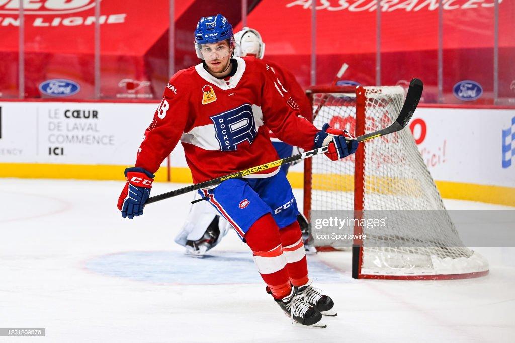 AHL: FEB 16 Belleville Senators at Laval Rocket : News Photo