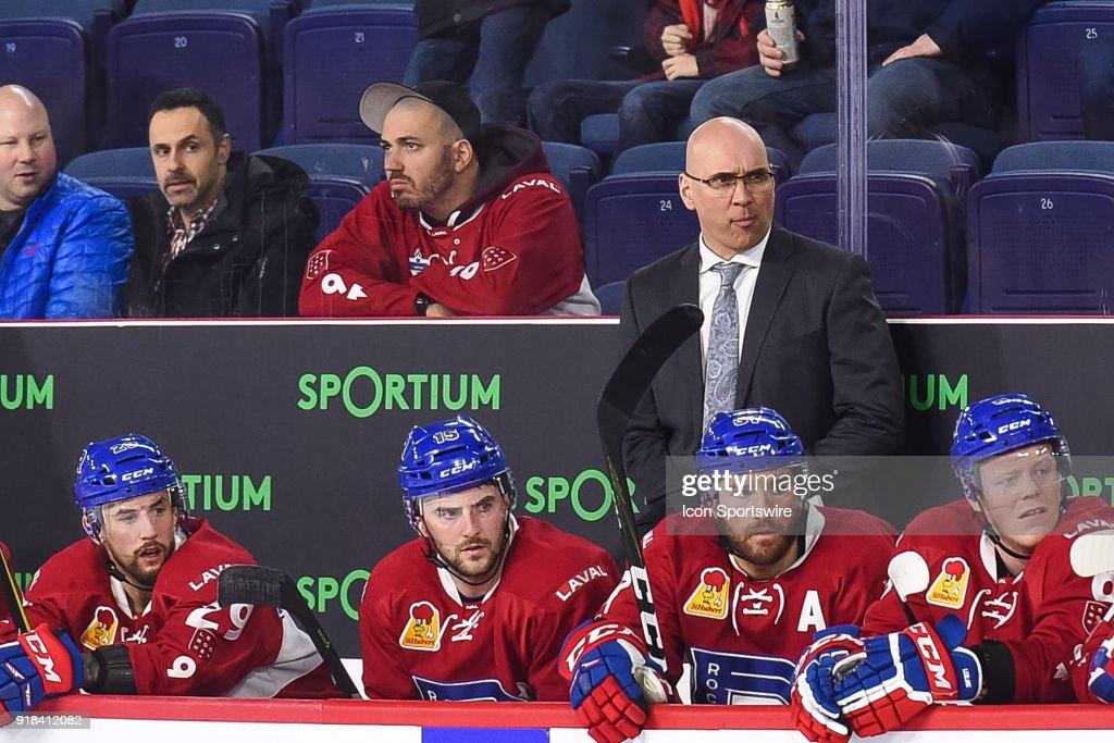 AHL: FEB 14 Belleville Senators at Laval Rocket : News Photo