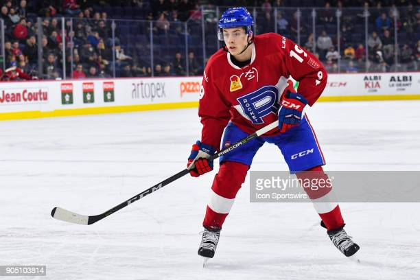 Look on Laval Rocket right wing Antoine Waked during the Utica Comets versus the Laval Rocket game on January 10 at Place Bell in Laval QC