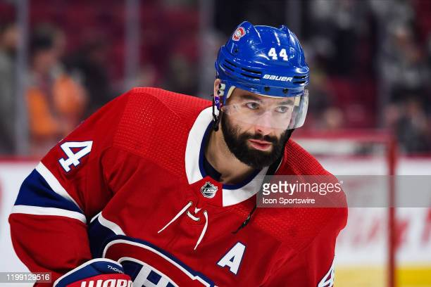 Look on Montreal Canadiens center Nate Thompson during the Anaheim Ducks versus the Montreal Canadiens game on February 06 at Bell Centre in Montreal...