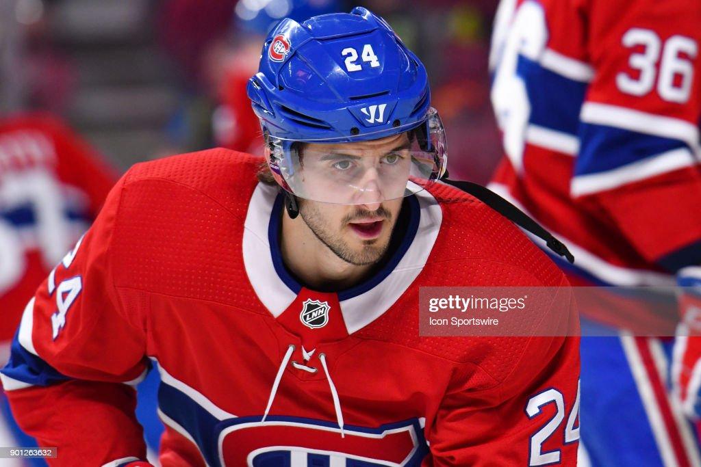 NHL: JAN 02 Sharks at Canadiens : News Photo