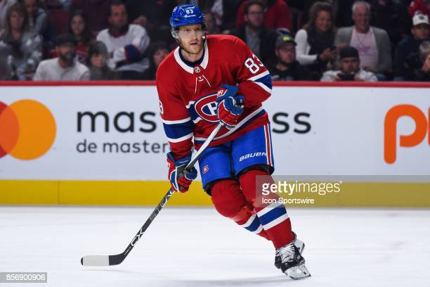 Look on Montreal Canadiens right wing Ales Hemsky during the Ottawa Senators versus the Montreal Canadiens preseason game on September 30 at Bell...