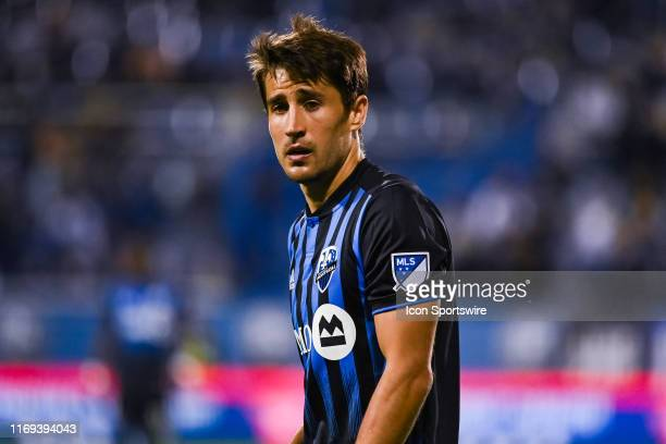 Look on Montreal Impact midfielder Bojan Krkic during the Toronto FC versus the Montreal Impact game on September 18 at Stade Saputo in Montreal QC