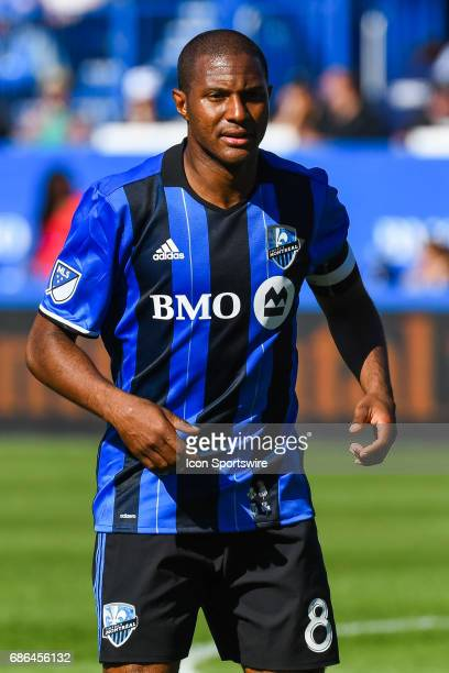 Look on Montreal Impact midfielder Patrice Bernier during the Portland Timbers versus the Montreal Impact game on May 20 at Stade Saputo in Montreal...