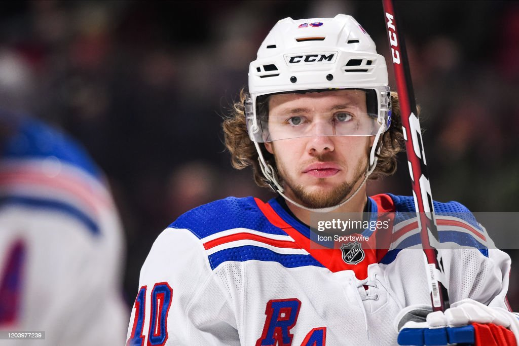 NHL: FEB 27 Rangers at Canadiens : News Photo