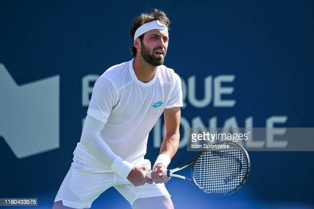 Look on Nikoloz Basilashvili during the ATP Coupe Rogers third round match on August 8 2019 at IGA Stadium in Montréal QC