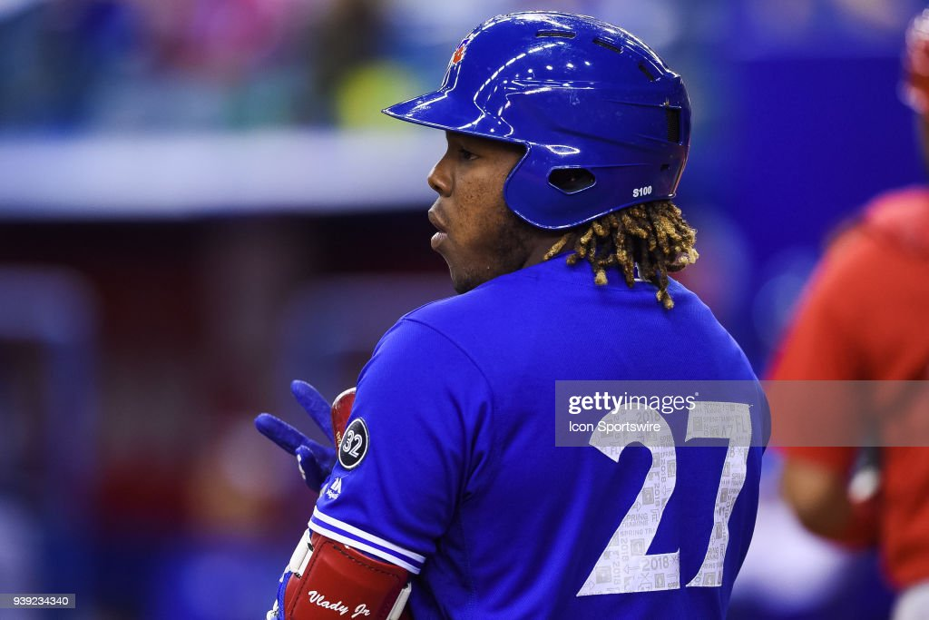 MLB: MAR 27 Cardinals at Blue Jays : News Photo