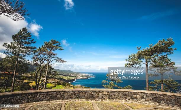 Look out over São Roque do Pico, Azores Islands