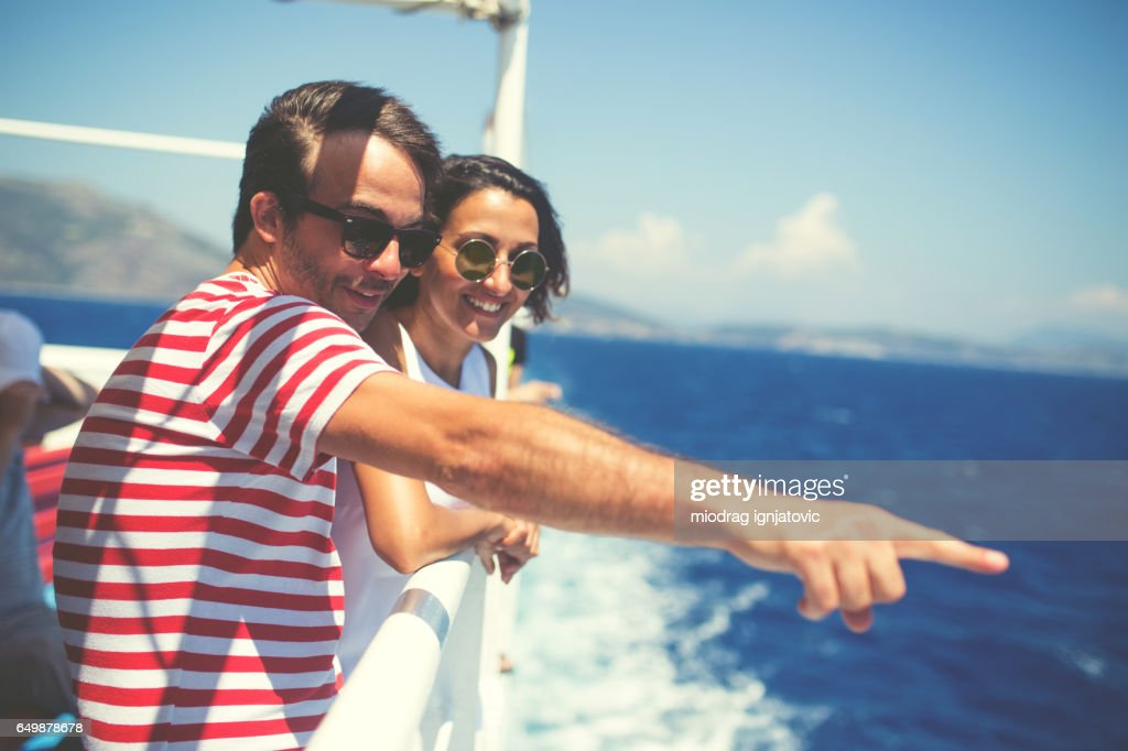 Look there! : Stock Photo