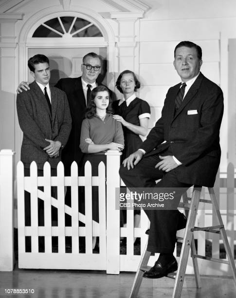 Look Up and Live the CBS television inspirational and cultural affairs program Episode The Family originally broadcast Sunday October 13 1957 Left to...