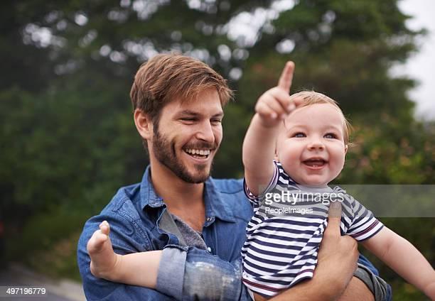 Schau es Daddy!