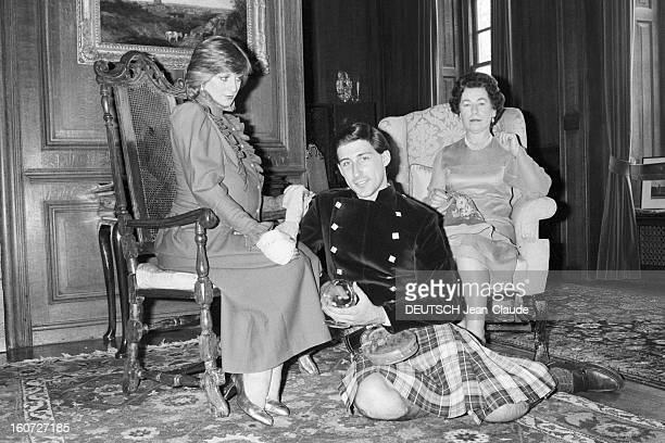 Lookalikes Of The Royal Family Of England GrandeBretagne mai 1982 es sosies de la famille royale d'Angleterre Janette CHARLES Sue WHITEHEAD et Paul...