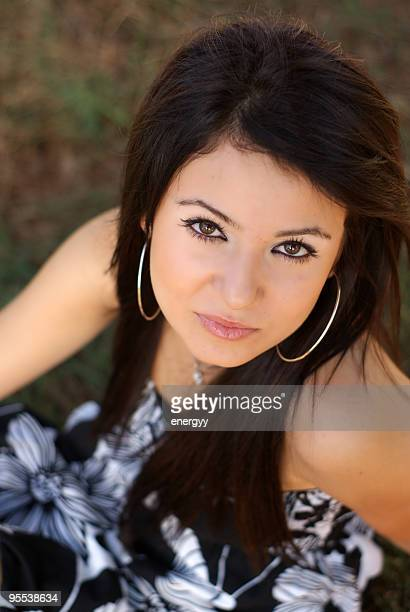 looked very beautiful young woman