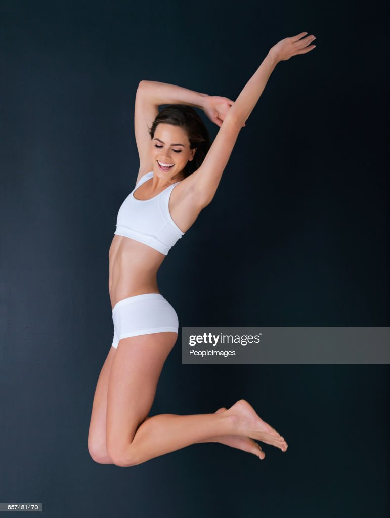 Looking and feeling good : Stock Photo