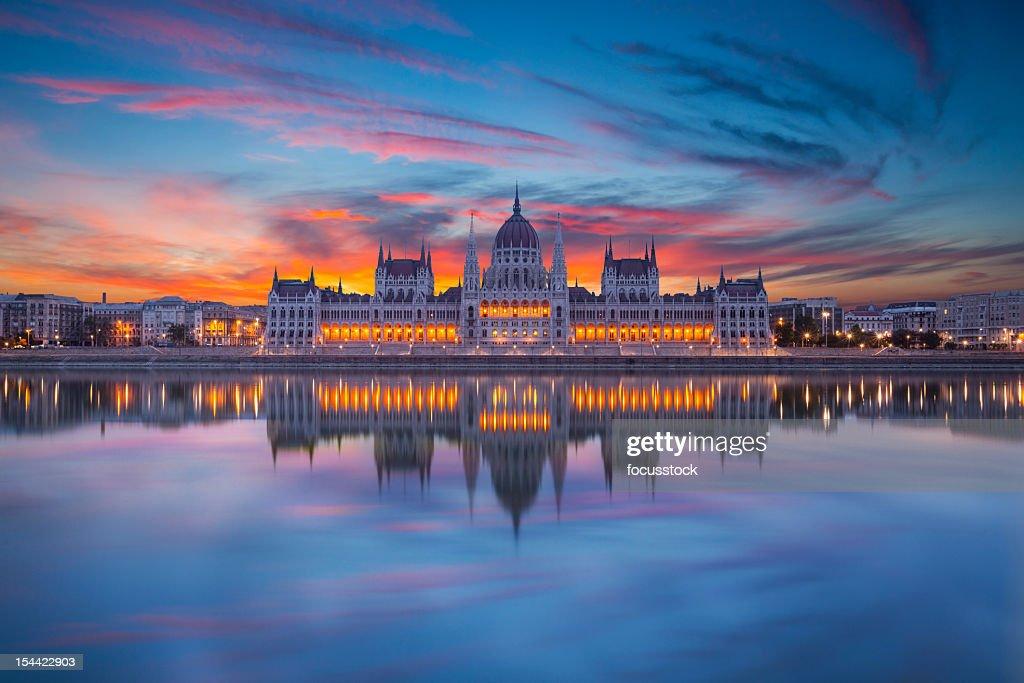 Parlamento húngaro : Foto de stock