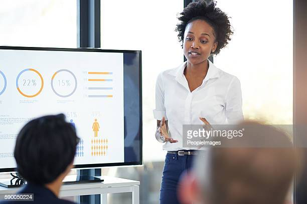 looking at the previous year's growth - business strategy stock photos and pictures