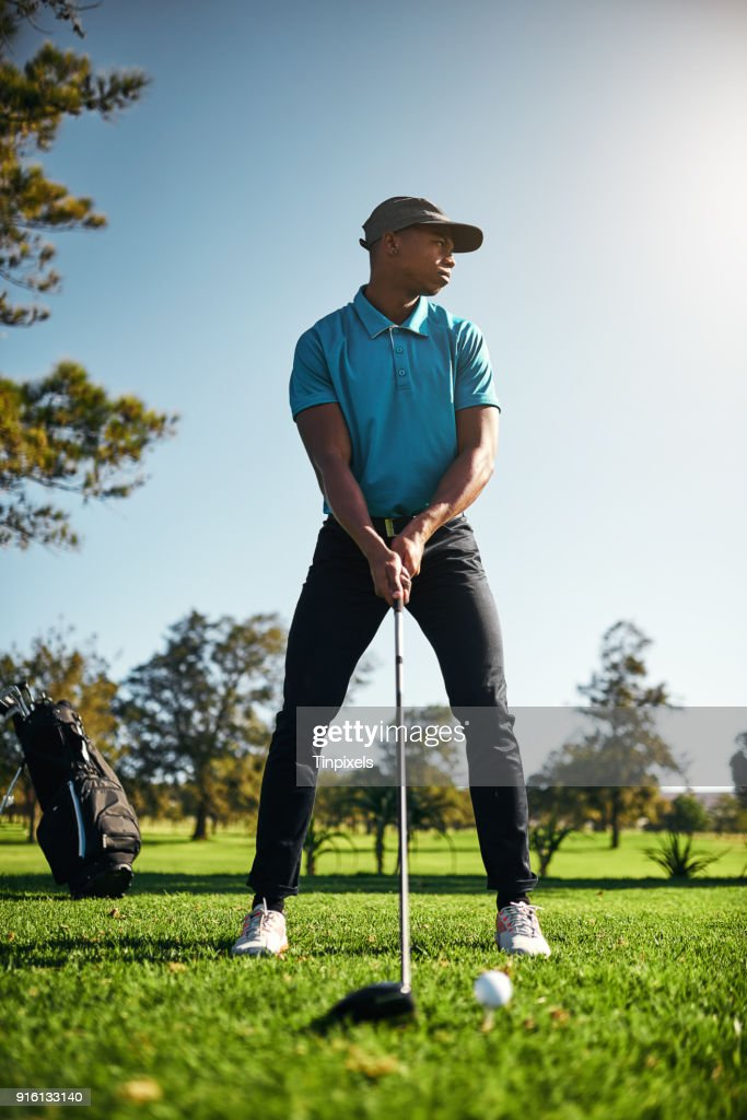 Looking at where the ball will go : Stock Photo