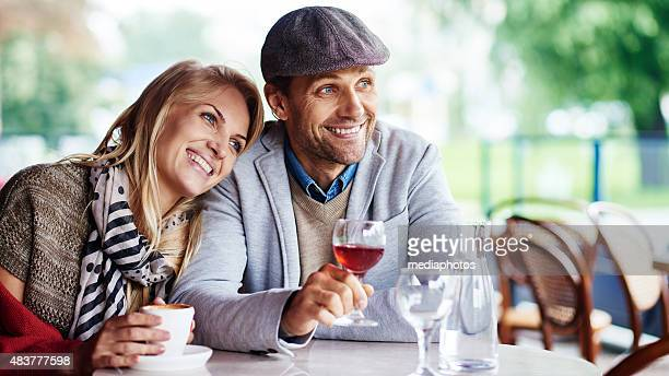 looking away - flat cap stock photos and pictures
