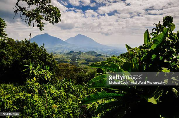 Looking Back at Ruhengeri from Volcanoes National Park