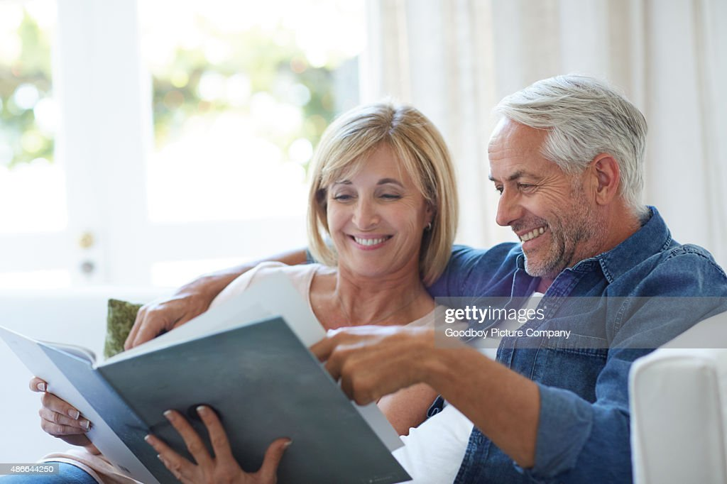 Looking back at the good old days : Stock Photo