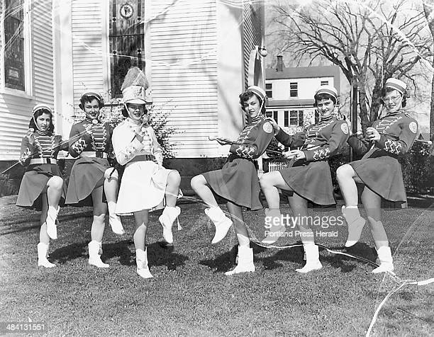 Looking Back May 12 1955 Majorettes of the Westbrook High School Band are preparing to appear the annual band chorus and barbershop group concert...