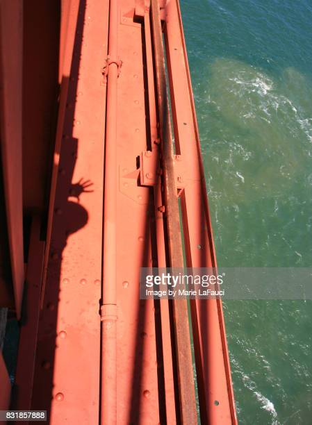 looking down from golden gate bridge - nuts magazine stock pictures, royalty-free photos & images