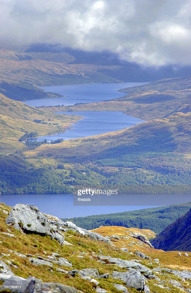 Looking Down On Loch Lomond : Stock Photo