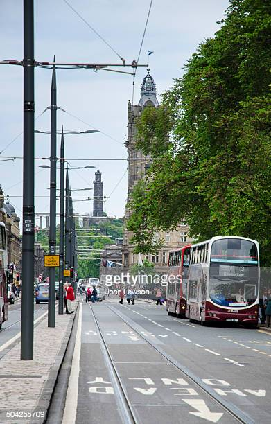 CONTENT] Looking east along Princes Street in Edinburgh Scotland Edinburgh has recently introduced trams to the city a move which has not proved...