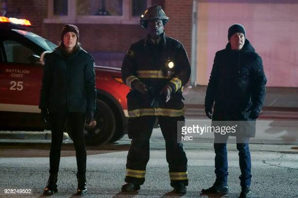 FIRE 'Looking For A Lifeline' Episode 614 Pictured Marina Squerciati as Kim Burgess Eamonn Walker as Wallace Boden Jon Seda as Antonio Dawson
