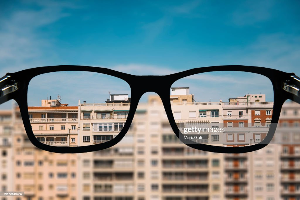 Looking for an apartment : Stock Photo