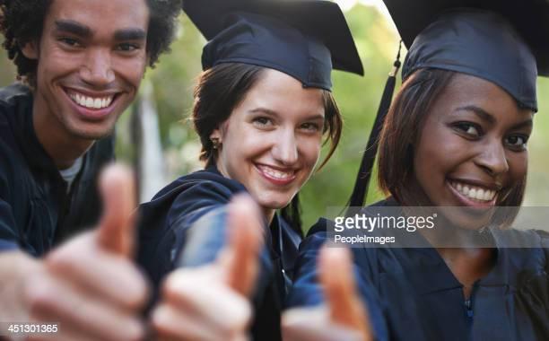 Looking forward to a bright future as graduates!