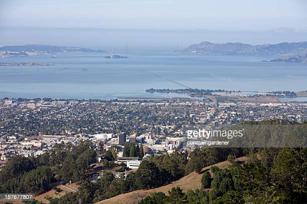 Looking From Berkeley To A Far Away Golden Gate Bridge