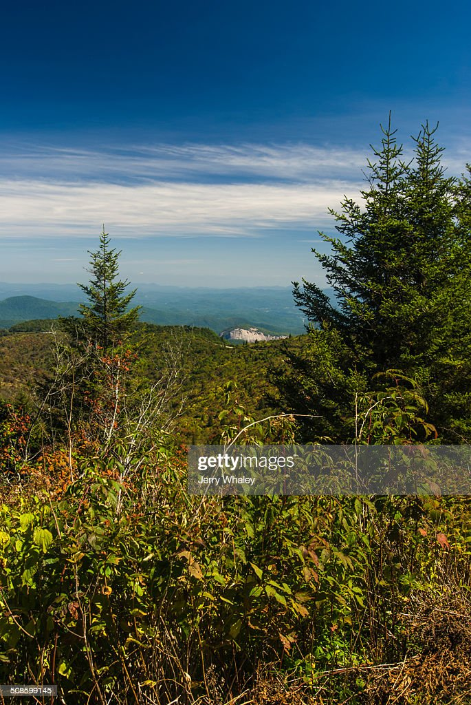 Looking Glass Rock, Pisgah NF : Stock Photo