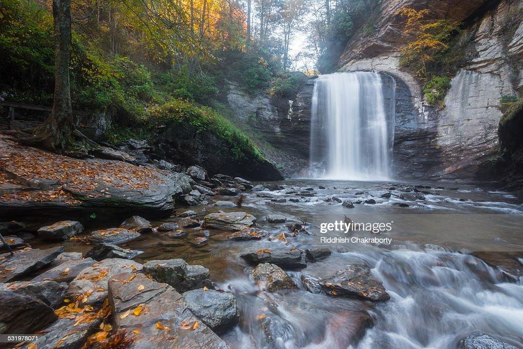 Looking Glass Waterfall : Stock Photo