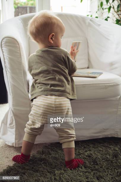 looking in his first book