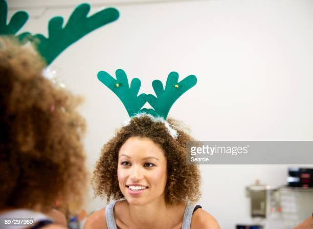 Looking in the mirror and reflecting on Christmas