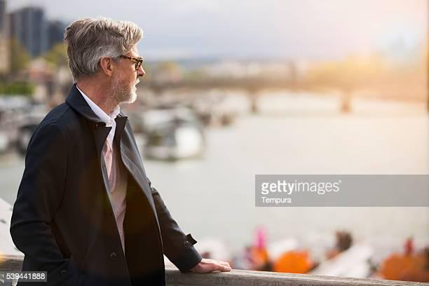 Looking into a bright future, Seine river