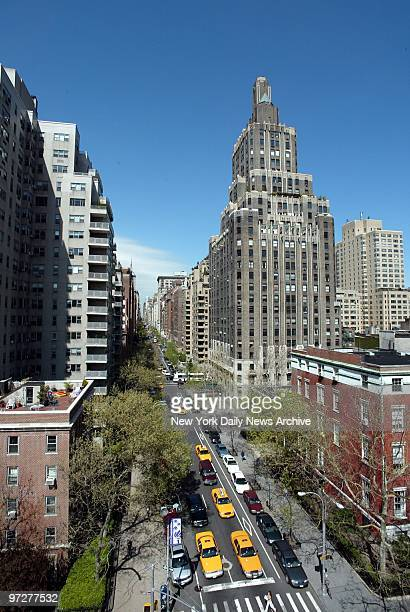 Looking north up Fifth Ave from the top of the Washington Square Arch