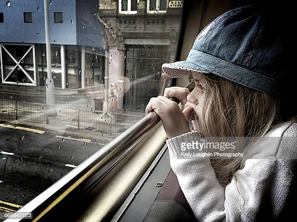 Looking out of the Bus Window