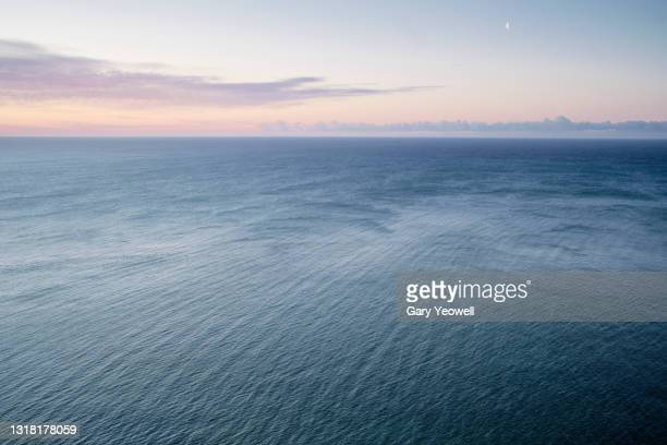 looking out over the sea at beachy head - sea stock pictures, royalty-free photos & images