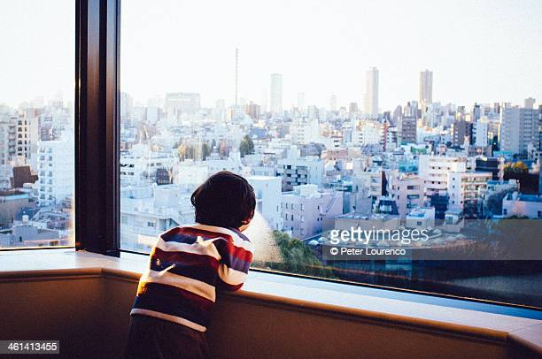 Looking out over Tokyo
