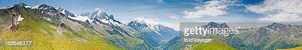 Vous cherchez au-dessus de Chamonix Mont Blanc