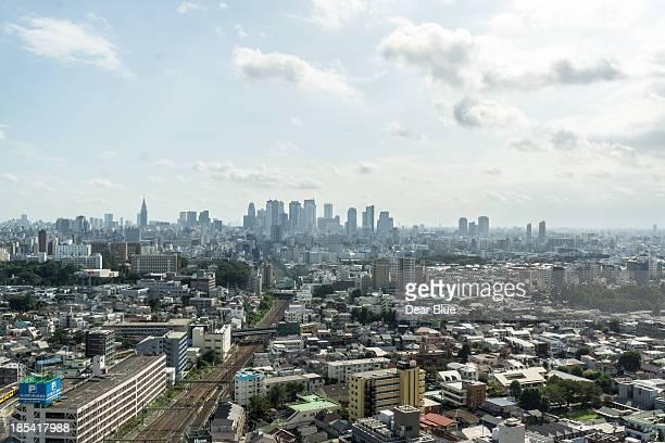 Looking over Shinjuku