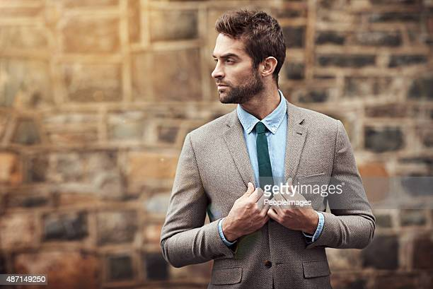 looking slick - blazer jacket stock photos and pictures