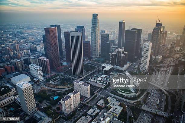 DTLA looking South Heli