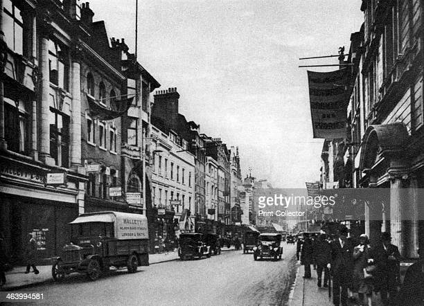 Looking south in New Bond Street London 19261927 From Wonderful London volume II edited by Arthur St John Adcock published by Amalgamated Press