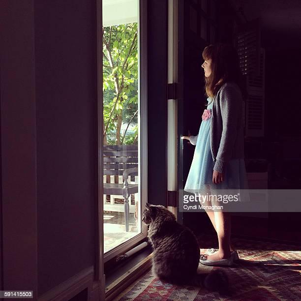 Looking through a Door