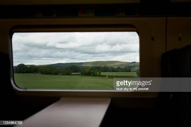 looking through a train window - アフィントン ストックフォトと画像