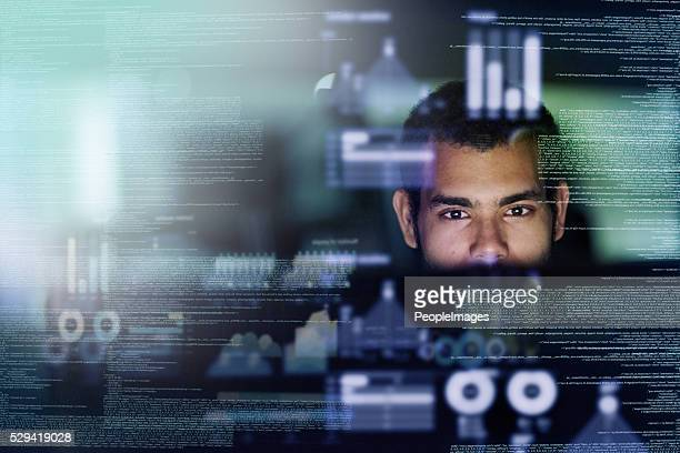 looking through the source code - concentration stock pictures, royalty-free photos & images